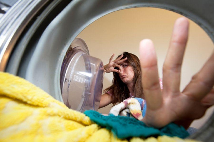 Как убрать запах из стиральной машинки