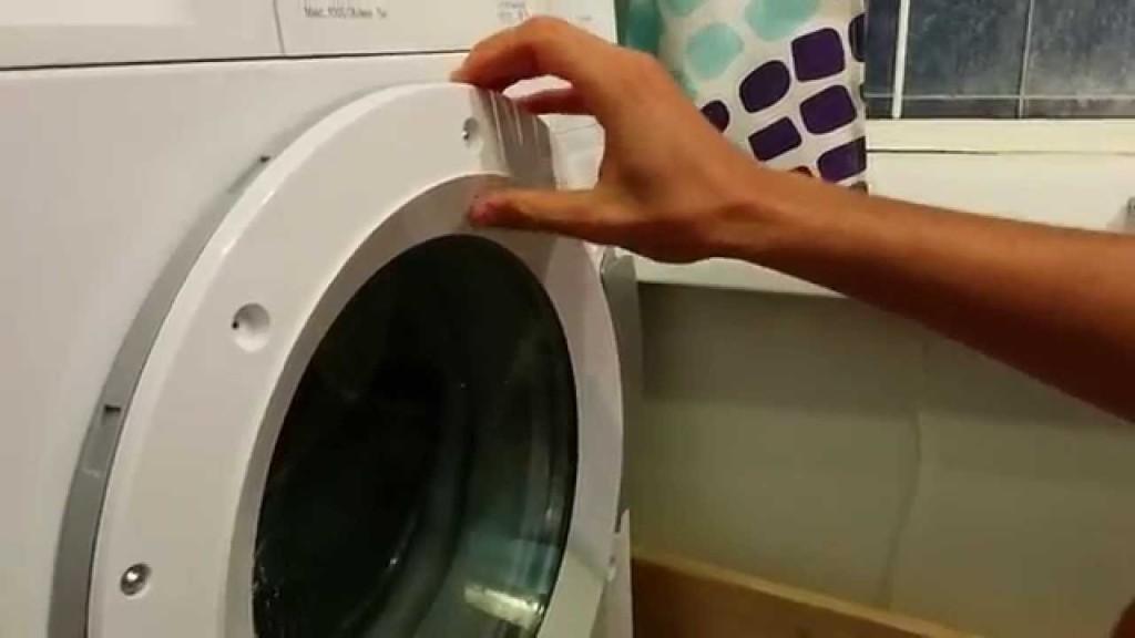 Не открывается дверца стиральной машины: причины
