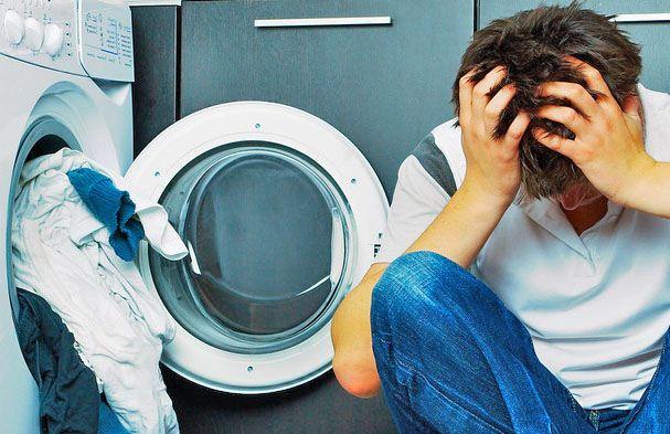 Основные причины поломок стиральных машин