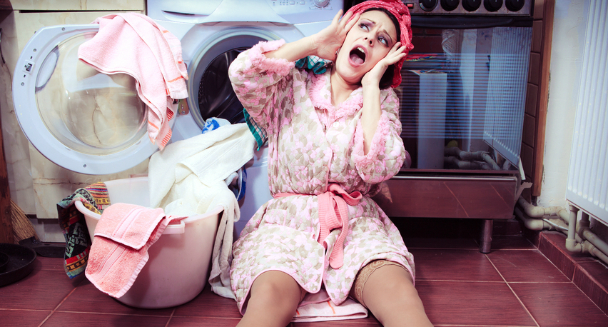 Вибрация стиральной машины. Что делать?